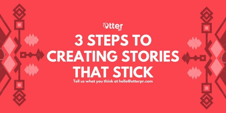 3 steps to telling stories that stick